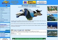 Samos-Hotels Screenshot